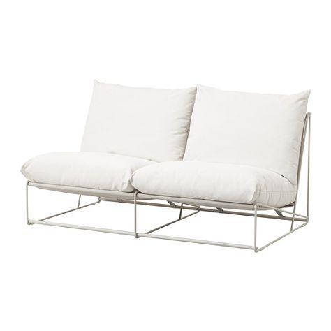 Havsten 2er Sofa Drinnen Draussen Ohne Abschluss Ohne Armlehnen