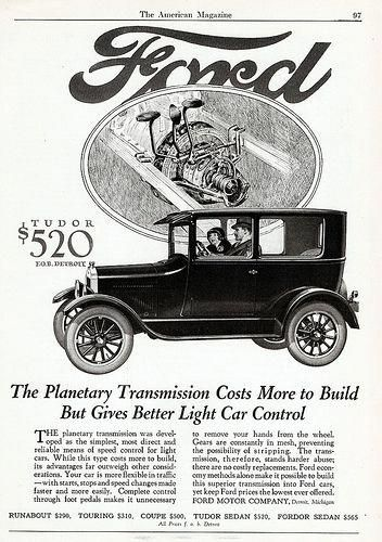 Around 1927 Harrison Ford Created The Model T A Car Available For Most Everyone At Affordable Prices Made Possible By His Use Of The Assembly Line Ford Models