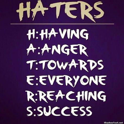 Haters Significado En Español Buscar Con Google Haters