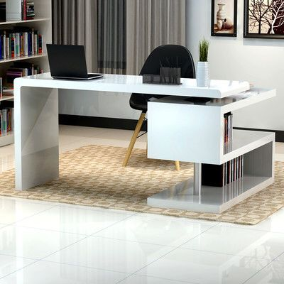 16 Modern Computer Desk For Your Home Office Modern Home Office Desk Modern Office Desk White Desk Office