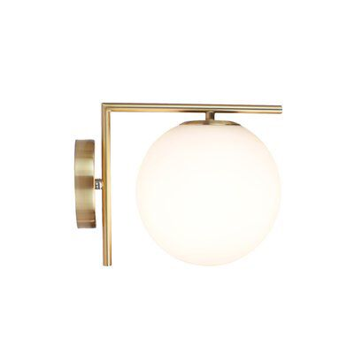 Lilianna 1 Light Armed Sconce Modern Wall Sconces Sconces Wall Sconces