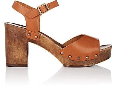 e9dab0829bea4 FiveSeventyFive Women's Leather Platform Sandals - Brown | Products ...