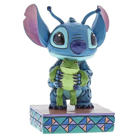 Stitch mit Frosch Jim Shore Figur 4059741 ENESCO DISNEY Traditions Skulptur
