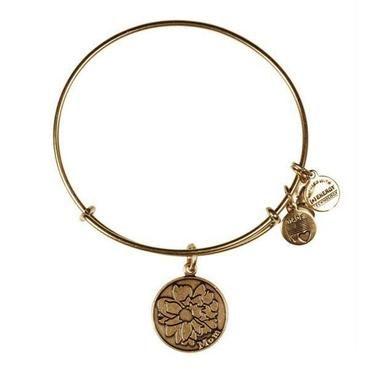 Alex and Ani Mom Charm Bangle Bracelet - Rafaelian Gold Finish - Item 19289503 | REEDS Jewelers