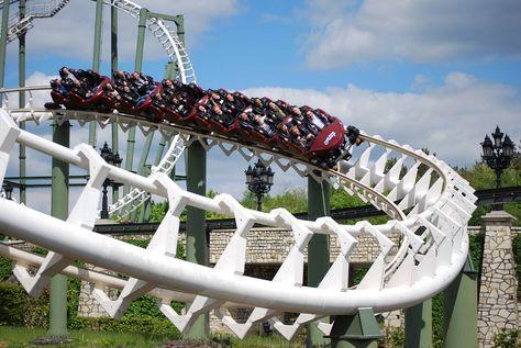 Big Loop At Heide Park Germany Parkscout Amusement Park And