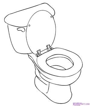 Potty Training Can Be Difficult For Any Child This Social Story Explains Toileting Information With Real Pictu Toilet Drawing Potty Training Girls Toilet Step