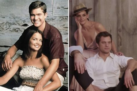 Katie Holmes And Joshua Jackson Were Touchy At The