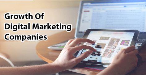 Growth Of Digital Marketing Companies | TheDigiGrowth