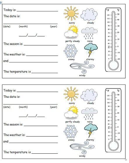 Weather Worksheets 2nd Grade Weather Worksheets Weather Lessons Teaching Weather Weather worksheets for second grade