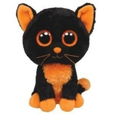 Ty Beanie Boos Moonlight the Halloween Cat