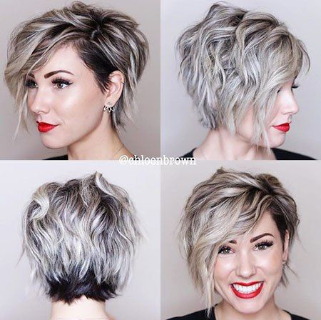 Short Asymmetrical Bob Hairstyles For 2018 Short Hair Styles Prom Hairstyles For Short Hair Thick Hair Styles