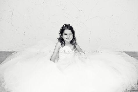 Children Photography, Daughter wearing mother\'s wedding dress ...