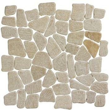 Stoeptegels 30x30 Gamma.Gamma Natura Stone Mat Beige 30x30 Cm 1 M Kopen Tegels