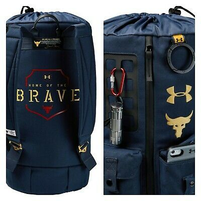 Under Armour UA Project 5 Unisex School College Travel Backpack Rucksack Bag
