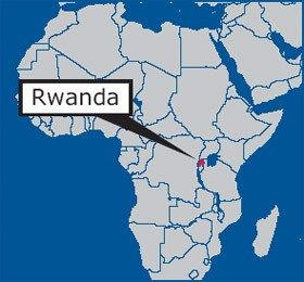 Africa Map Showing Rwanda.Rcef Is Going To Rwanda Africa Map African Map Volunteer