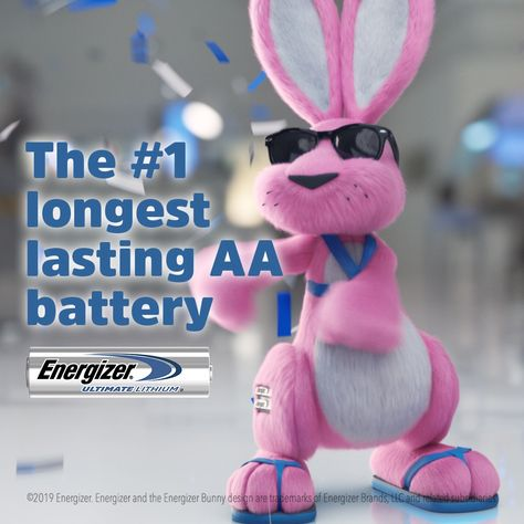 In head to head tests, Energizer Ultimate Lithium came out on top. Every. Single. Time. (And looked good doing it.) That's why it's the #1 Longest Lasting AA battery.