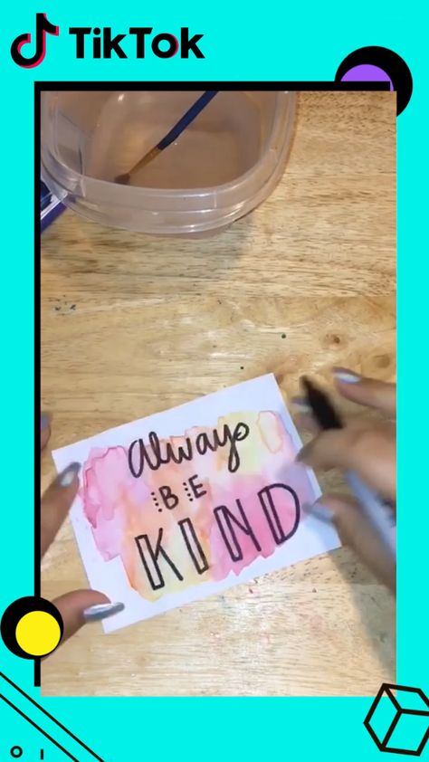 It's easy to #DIY a beautiful card with warm quotes! Download #TikTok and search #craftyourlife for more ideas. Post your own DIY videos to share with others! Life's moving fast, so make every second count.