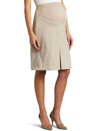 Maternal America Womens Maternity A-line Skirt