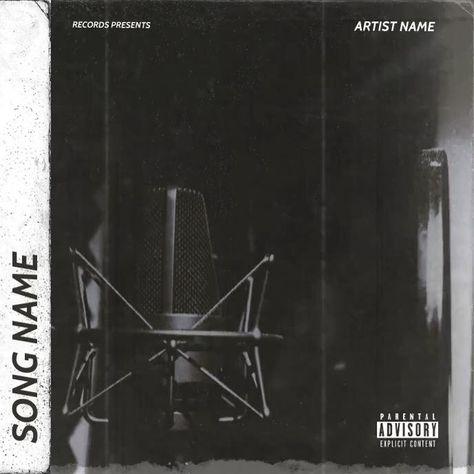 Rap mixtape cover art video template