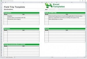 Tour Schedule Template Itinerary Planner Travel Planner