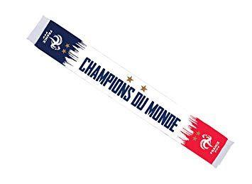 Collection Officielle Taille 140 cm Equipe de FRANCE de football Echarpe FFF