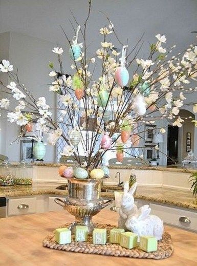34 Easter Holiday Home Decoration Ideas Easter Centerpieces Easter Centerpieces Diy Spring Easter Decor