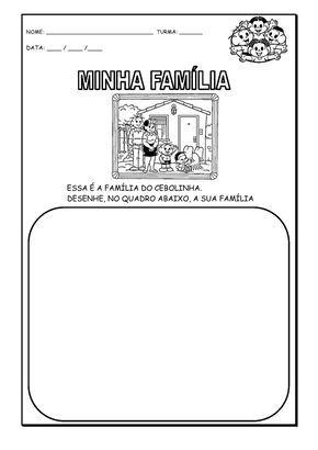 Familia E Identidade Atividades Atividades Alfabetizacao E