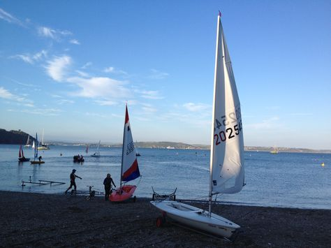 Thursday night is sailing night at Cawsands, a village on the Rame Peninsula, just across the water from the busy city of Plymouth.