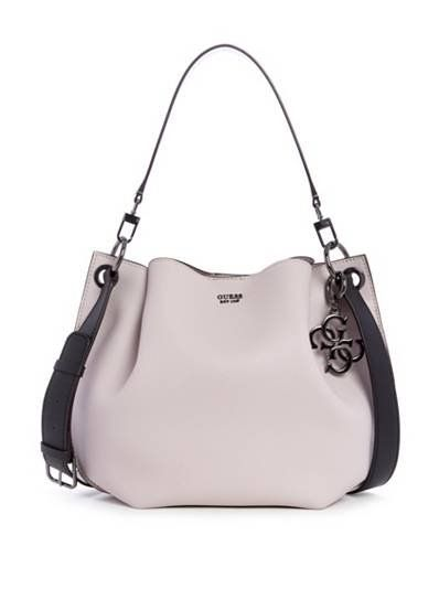 a1e4fe68a9d2ff Digital Color-Block Hobo Bag | GUESS.com | GUESS / Accessorize in ...