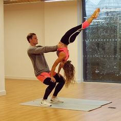 Happy Valentine S Day Ryan Libbey I Love You Today And Everyday Relationships Are About Balance So We Thought Couples Yoga Poses Acro Yoga Poses Couples Yoga