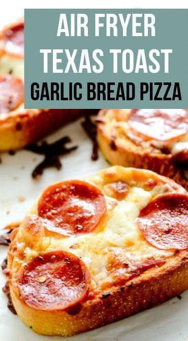 Air Fryer Pizza is ready quickly with the help of garlic bread. Air Fryer Pizza is ready quickly with the help of garlic bread. The post Air Fryer Pizza is ready quickly with the help of garlic bread. Air Frier Recipes, Air Fryer Oven Recipes, Air Fryer Dinner Recipes, Texas Toast Garlic Bread, Garlic Bread Pizza, Comida Pizza, Pizza Food, Pizza Pizza, Fried Pizza