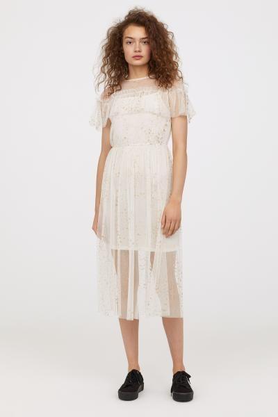 25++ Beaded mesh dress hm inspirations
