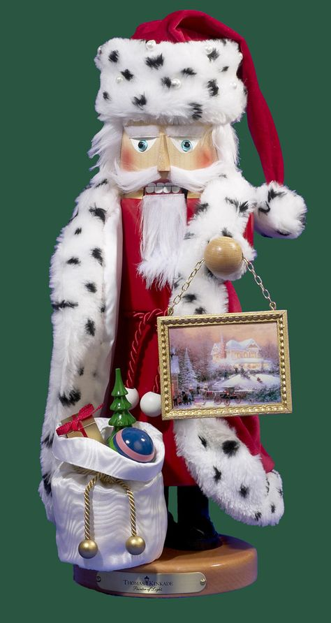 The Steinbach factory has created new for 2008 the Thomas Kinkade nutcracker (ES1906).