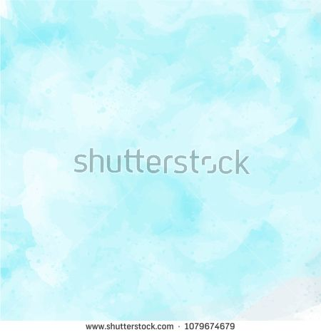 Abstract Aqua Art Background Banner Blue Border Bright Brush Color