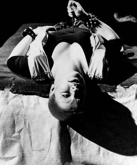 Toyah Willcox as 'Mad' in Derek Jarman's Jubilee (1978)