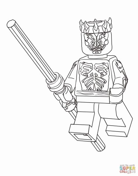 Star Wars Coloring Printables Unique Lego Kylo Ren Coloring Pages