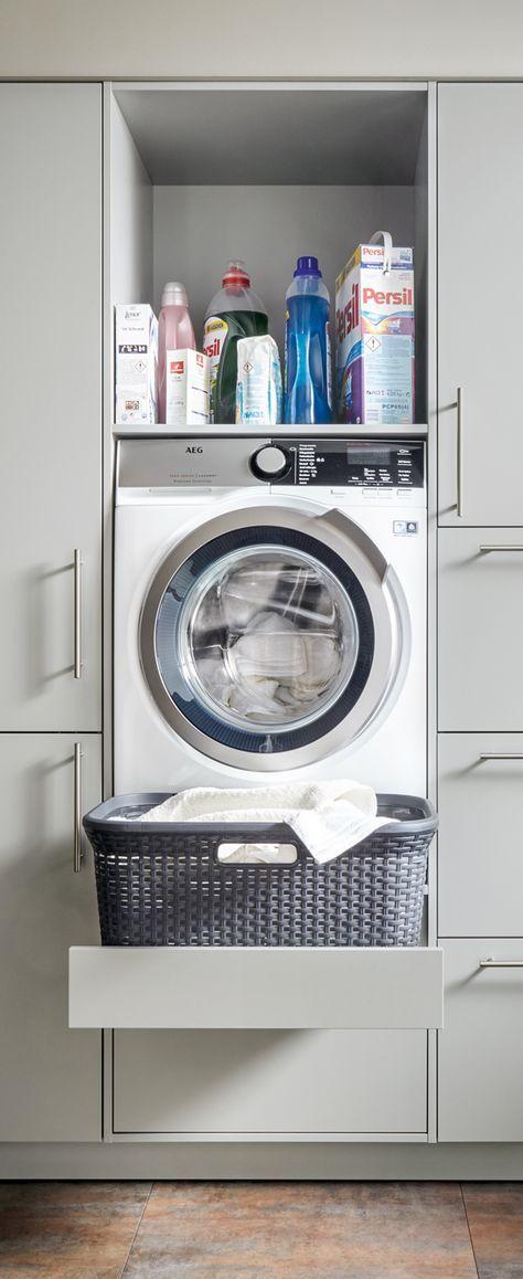 Hauswirtschaftsraum Von Spitzhuttl Home Company Kleine Waschkuche Hauswirtschaftsraum Und Waschkuchen Schranke