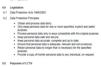 Gdpr Policy Templates For Digital Privacy And Protection Of