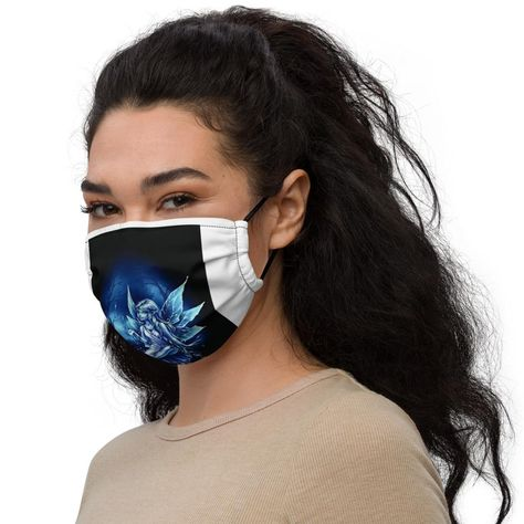This reusable face mask will fit you nicely thanks to its adjustable nose wire and elastic bands. Choose a design that will complement your style, as face masks are becoming the new trend. • 100% supersoft polyester microfiber • Fabric weight: 2.4–2.5 oz/yd² (80-85 g/m²) • Nose wire that helps adjust the mask • Elastic bands with PVC earloop size regulators • Pocket for a filter or napkin • Washable and reusableSize guide ONE SIZE Height (inches) 7 ⅛ Width (inches) 7 ¼ Earloop circumference (inc