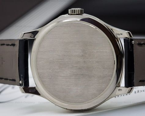 Patek Philippe 5227 G Calatrava 5227g 001 5227g 18k White Gold With An 18k White Gold Tang Buckle Automatic Caliber 324 S C 18k White Gold White Gold Dial