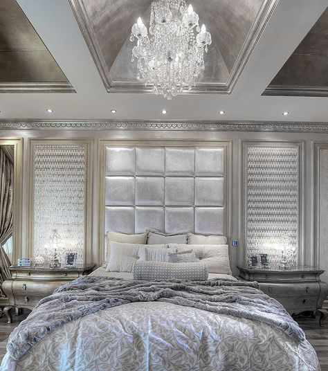 Hollywood Glamour Style All White And Gold Victorian Style Bedroom Decor In Modern Victorian Bedr Glamourous Bedroom Victorian Bedroom Modern Victorian Bedroom