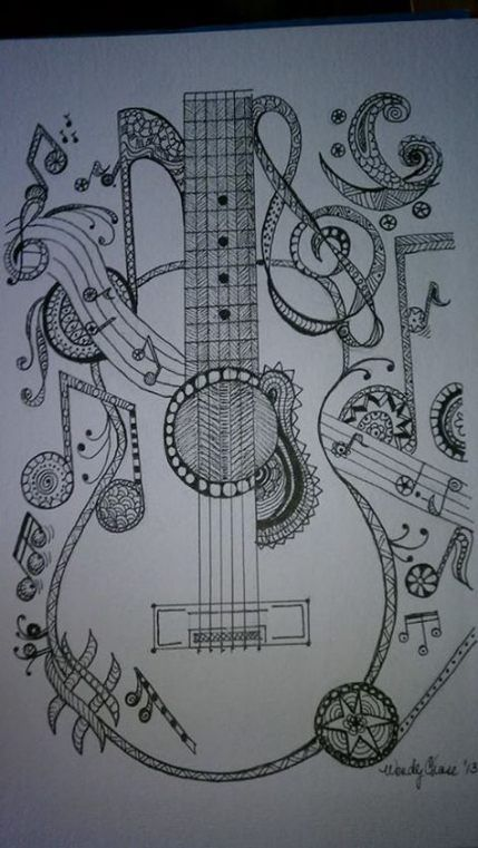 Trendy Music Instruments Sketch Pencil Ideas Music With Images