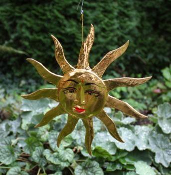 Dschungel Shop Goldene Sonne Aus Holz Dekoration Holz Und