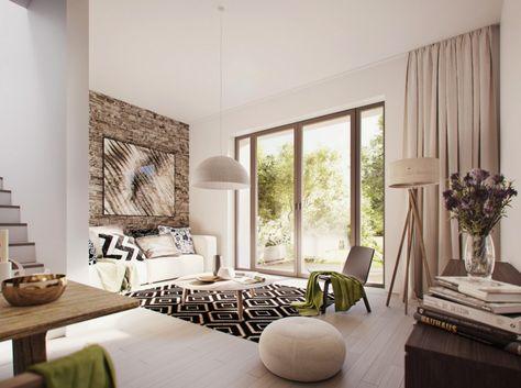 Modernes Wohnzimmer Einrichten In Den Farben Grau Beige Oder Weiss