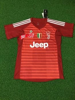buy online 8169d d17dc 2018-19 Cheap Goalie Jersey Juventus Red Replica Soccer ...