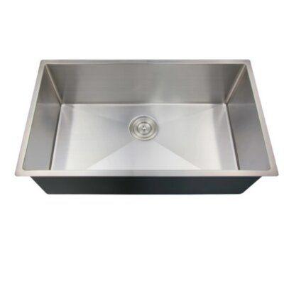 Royal Legend 3219s Single Basin Undermount Stainless Steel