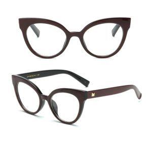 136f58e33f2cf armação para óculos de grau aro metálico geek metálica   Armações 4 eyes    Eyes