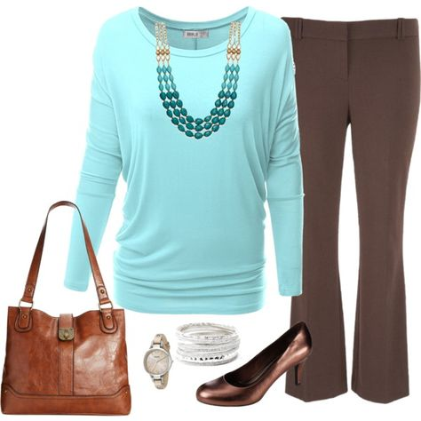 Plus Size Outfit, Fall Career Fashion by jmc6115 on Polyvore featuring Doublju, maurices, Style & Co., Bar III and FOSSIL