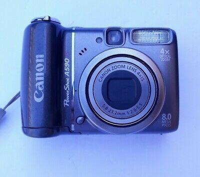 Canon A590 Power Shot Camera Good Preowned Condition Camera Mini Digital Camera Camera Gift