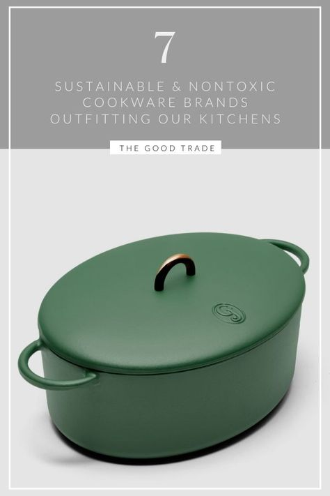 We need a kitchen upgrade ASAP // The Good Trade // lifestyle lifestyle fitness lifestyle healthy habits lifestyle ideas lifestyle tips Energy Saving Tips, Save Energy, Non Toxic Cookware, Best Trade, Sustainable Living, Sustainable Energy, Kitchen Upgrades, Eco Friendly House, Green Life